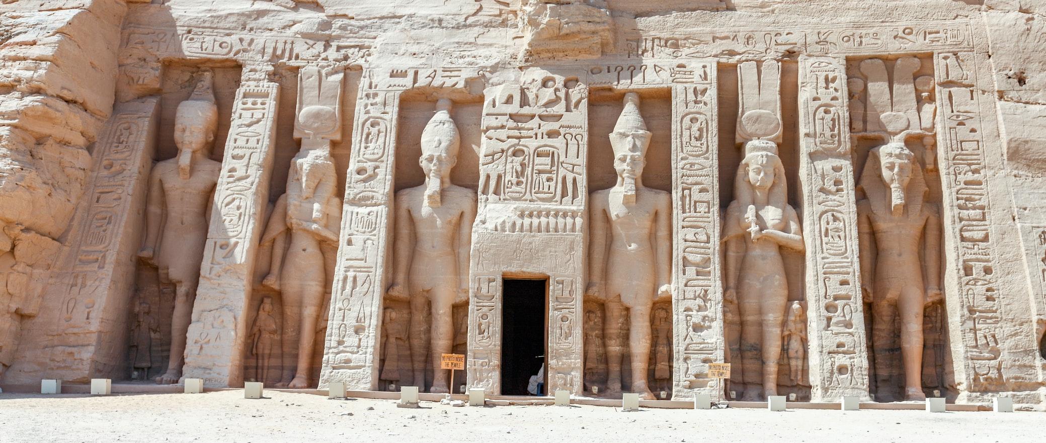 Abu Simbel-egypte