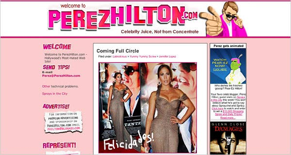 Perez-Hilton-blogger