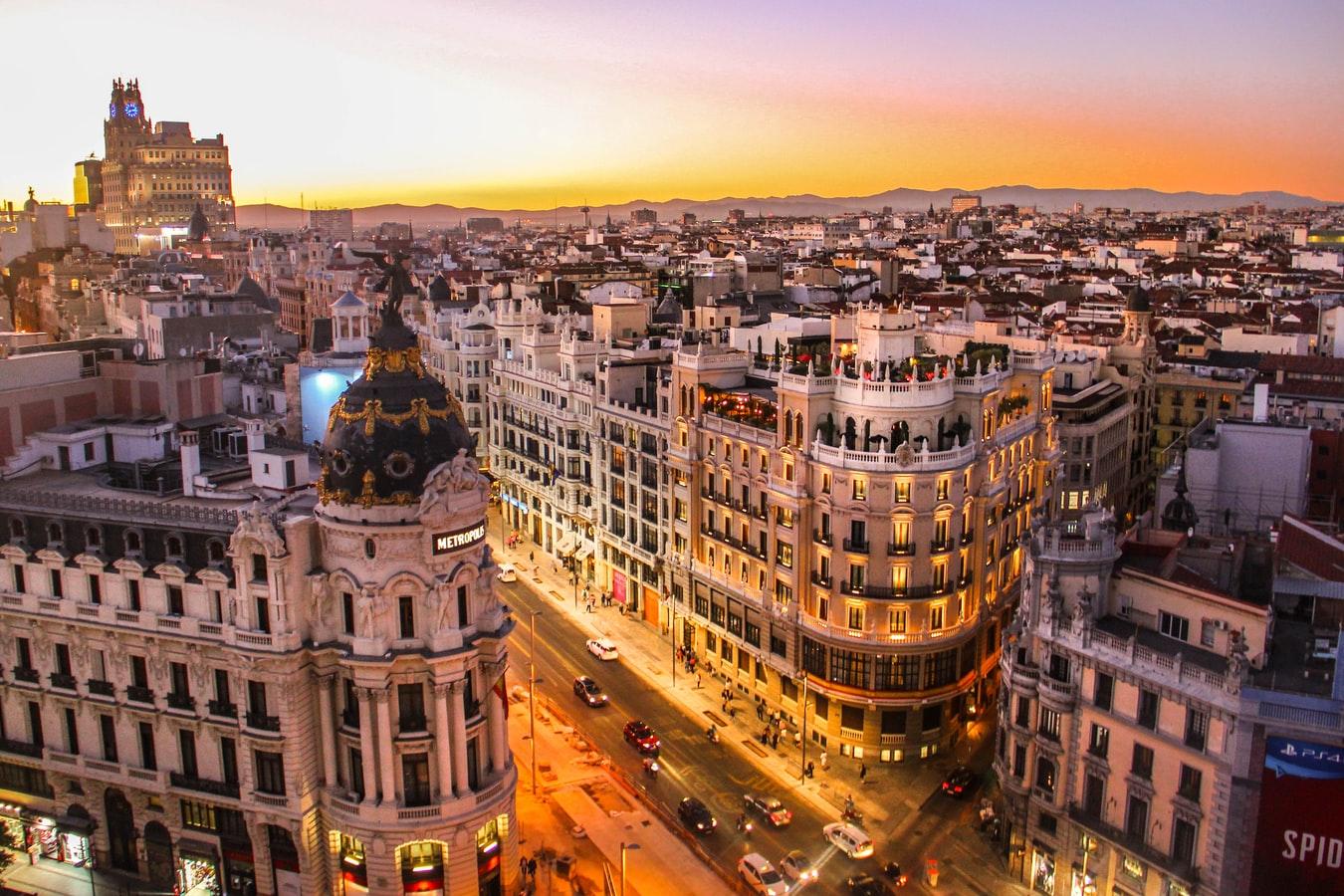 barcelona-zonsondergang