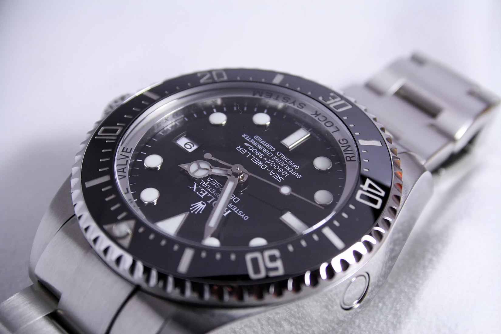 Rolex Sea-Dweller Deepsea 116660 Steel horloge