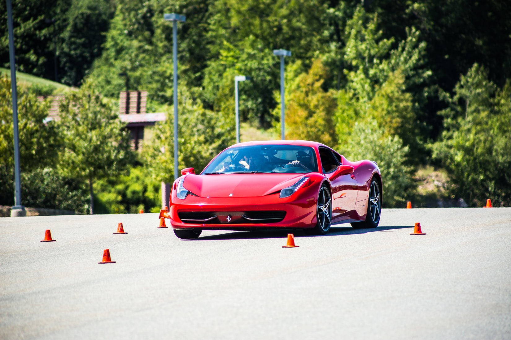 Ferrari Pininfarina Sergio rood