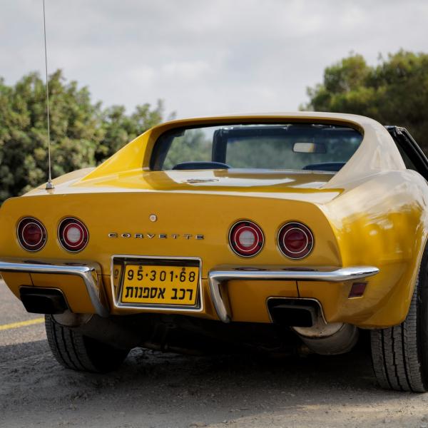 corvette-geel-auto