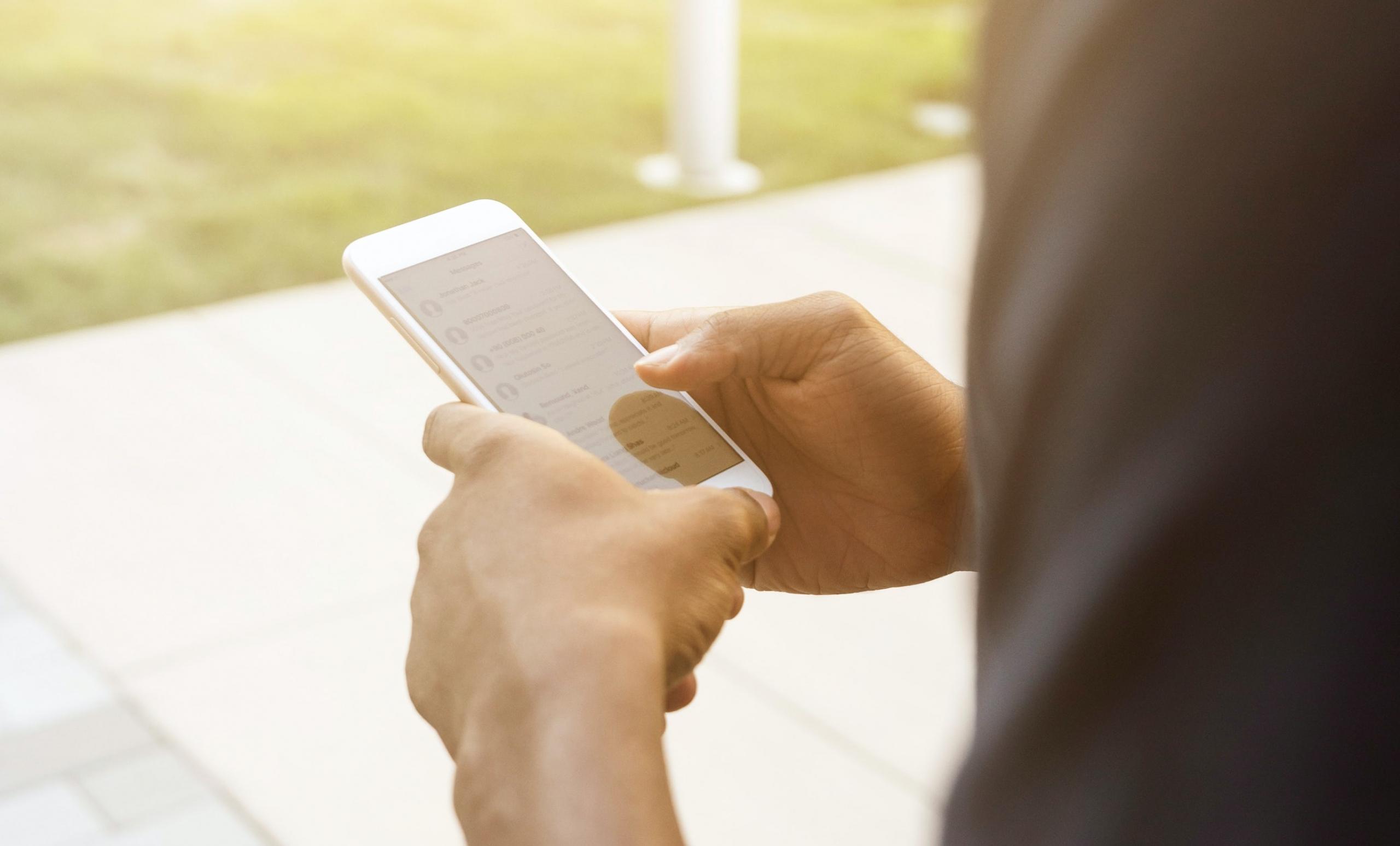 iphone-wit-telefoon