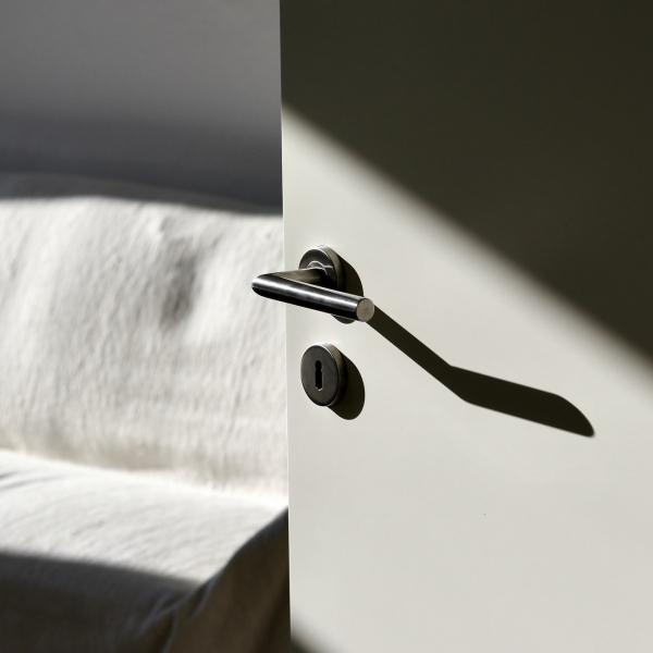 deurklink-zilver-deur