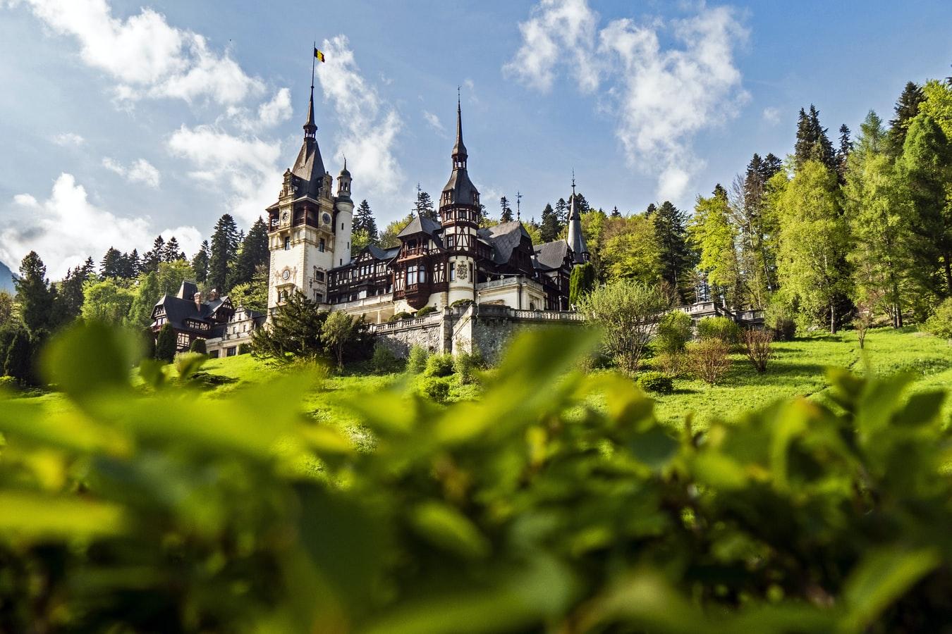 Roemenië-kasteel