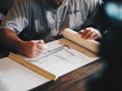architect-bouwtekening