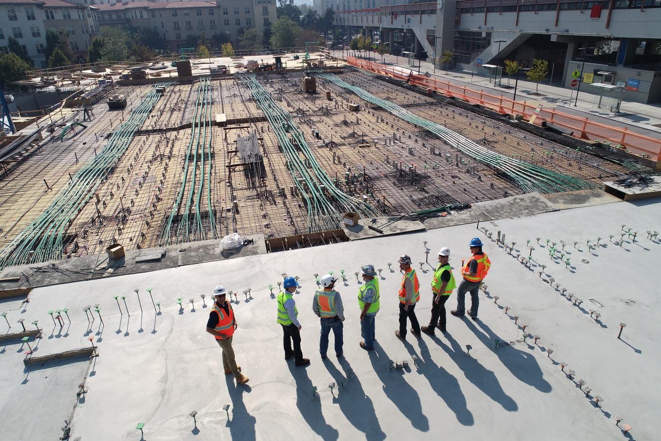 bouw-werknemers