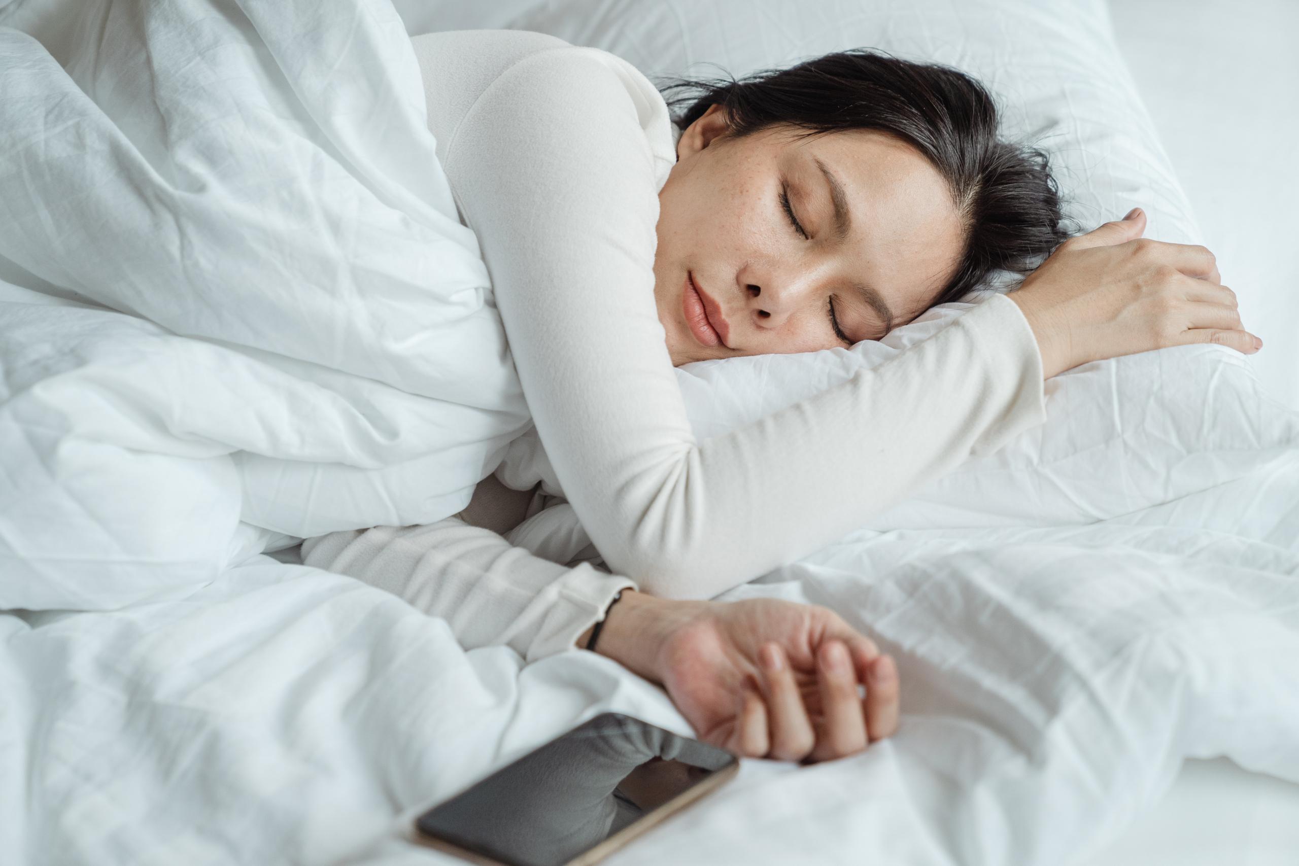 vrouw-slapen